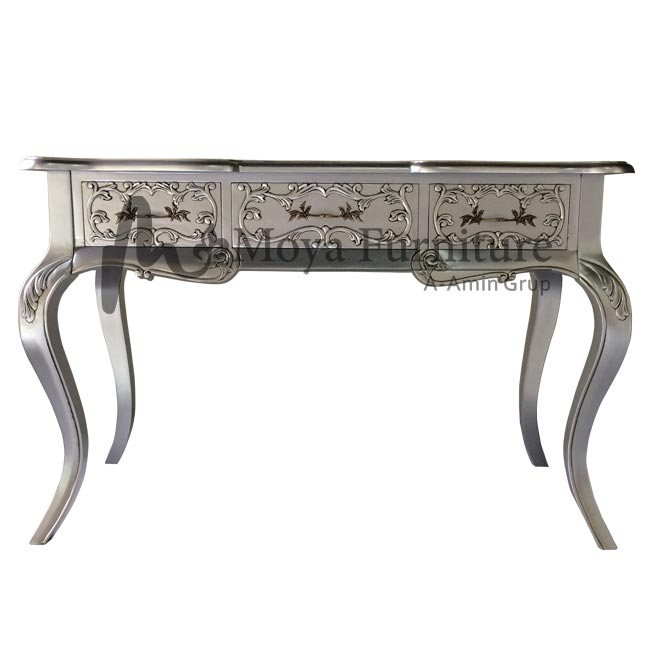 Classic writing desk with drawers