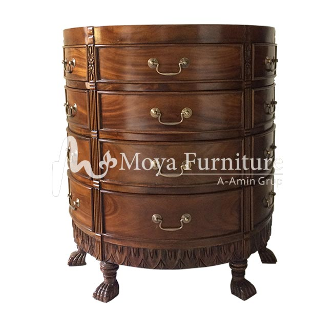 Chest of drawers sunburst | Antiquw chest of drawers